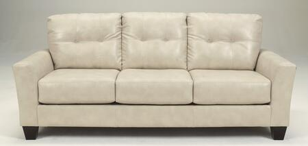 """Benchcraft Paulie Collection 2700x38 83"""" Sofa with Dura Blend Upholstery, Tufted Back Cushions, Flared Arms and Contemporary Style in"""