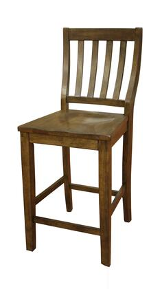 American Heritage 700200CG Este Series Traditional Not Upholstered Wood Frame Dining Room Chair