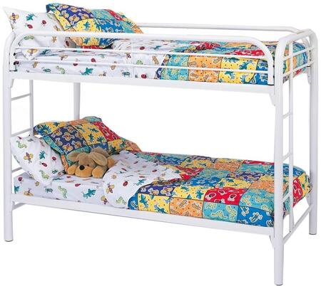 Coaster 2256W Fordham Series  Twin Size Bunk Bed