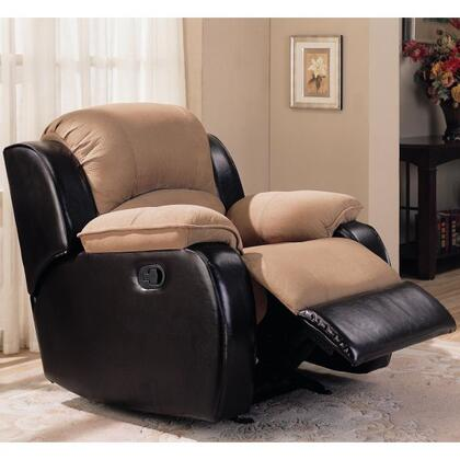 Coaster 600361R Casual Wood Frame  Recliners