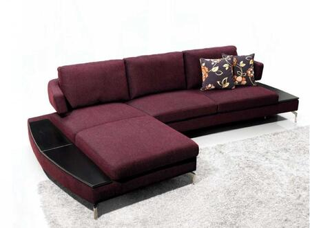 VIG Furniture VGMB1077  Sofa and Chaise Fabric Sofa