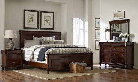 Broyhill 4906QPBNDM Aryell Queen Bedroom Sets