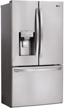 LG LFXS28566S 36 Inch French Door Refrigerator, in Stainless