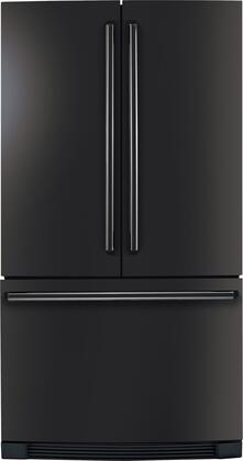 "Electrolux EI23BC30KB 36""  Counter Depth French Door Refrigerator with 22.6 cu. ft. Total Capacity 4 Glass Shelves"