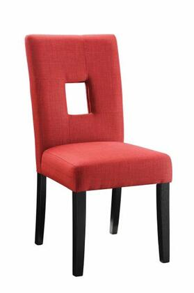 Coaster 106655 Andenne Series Contemporary Fabric Wood Frame Dining Room Chair
