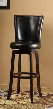 Hillsdale Furniture 4951826 Copenhagen Series Residential Faux Leather Upholstered Bar Stool
