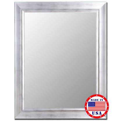 Hitchcock Butterfield 20020X Vintage Silver / Silver Liner Framed Wall Mirror