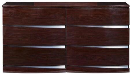 Global Furniture USA AURORAWD Aurora Series  Dresser