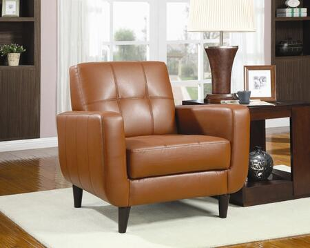Coaster 900205  Leather Like Vinyl Accent Chair