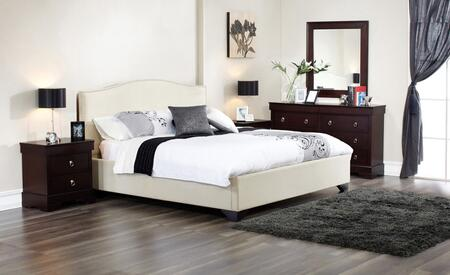Lifestyle Solutions MGL5PC6CPSET California King Bedroom Set