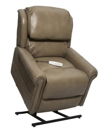 "Mega Motion Uptown NM2350-BMX-A0A 34"" Power Recliner Lift Chair with 3-Position Mechanism, Split Back Design and Chaise Pad in"