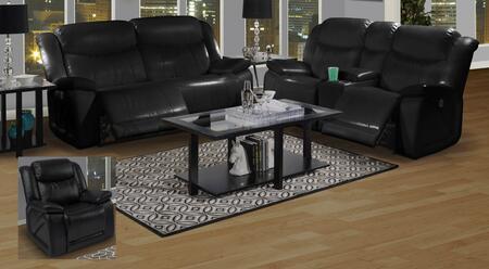 New Classic Home Furnishings 2232432MBKSLR Soho Living Room