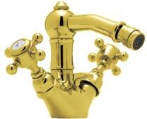 Rohl A1434XM Italian Country Bath Collection Acqui Single-Hole Bidet Faucet with Cross Handles in
