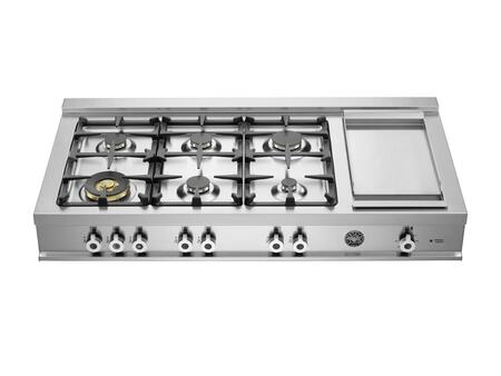 Bertazzoni CB486GPROX Professional Series Gas 120V Style Cooktop |Appliances Connection