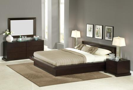 Lifestyle Solutions ZUR4PEKCPSET King Bedroom Sets