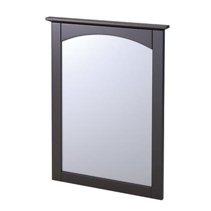 Foremost COEM x Matching Arched Mirror for the Columbia Collection with a Slim Design and Pre-attached Mounting Hooks