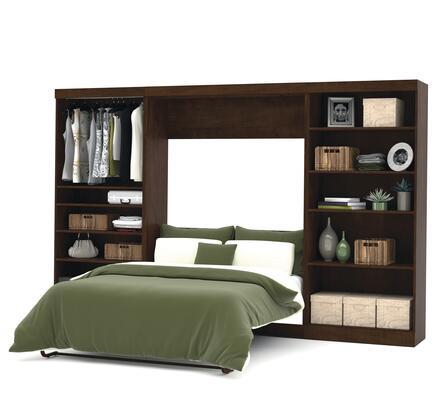 "Bestar Furniture 26895 Pur by Bestar 131"" Full Wall bed kit"
