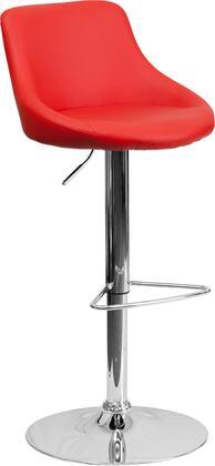 Flash Furniture CH82028MODREDGG Residential Vinyl Upholstered Bar Stool
