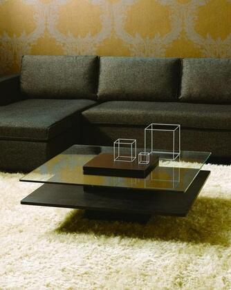 VIG Furniture VGHBHK22ABLK Black Oak Modern Table