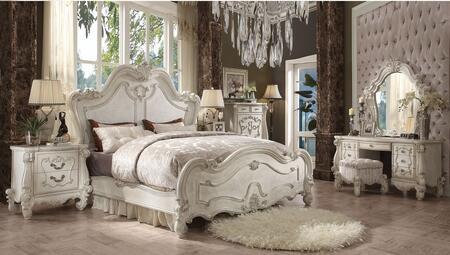 Acme Furniture 21150Q7SET Versailles Queen Bedroom Sets