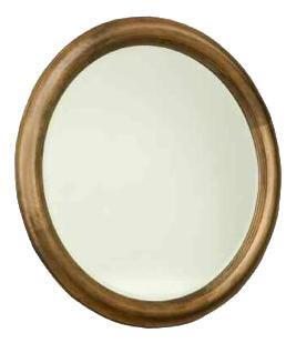 Durham 111180AR Hudson Falls Series Round Portrait Dresser Mirror