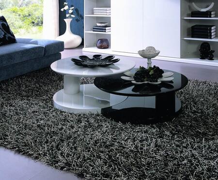 VIG Furniture VGZH5027 Black/White Contemporary Table