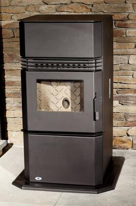 Hudson River HRKFS  B-Vent Wood Pellet Fireplace