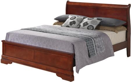 Glory Furniture G3100EKB3 G3100 Series  King Size Sleigh Bed