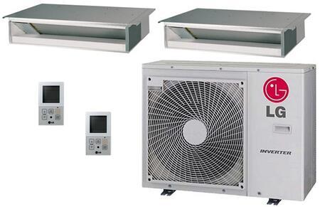 LG 704528 Dual-Zone Mini Split Air Conditioners