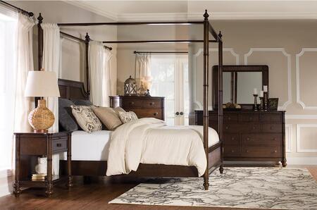 Powell 14BO7024PW4PCQCNMDDLM1DNKIT1 Passages Queen Bedroom S
