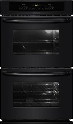 """Frigidaire FFET3025L 30"""" Double Electric Wall Oven With 4.2 Cu. Ft.Upper/Lower Oven Capacity, Self-Cleaning, Even Bake Technology, 4 Oven Racks, Ready-Select Controls, Vari-Broil System, In"""