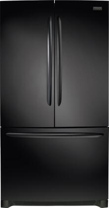 """Frigidaire FGHN2868T 36"""" Gallery Series French Door Refrigerator with 27.6 cu. ft. Capacity, Automatic Ice Maker, in"""