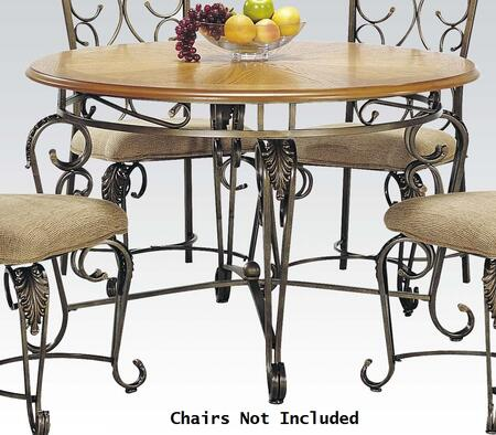 Acme furniture 07720ch venetian dining room sets for Dining room furniture 0 finance
