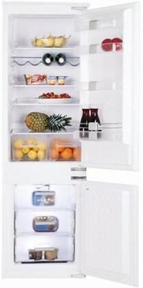 Blomberg BRFB0900  Counter Depth Bottom Freezer Refrigerator with 9.53 cu. ft. Total Capacity 1.55 cu. ft. Freezer Capacity 4 Glass Shelves