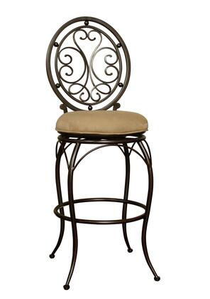 American Heritage 124846PBC07 Opus Series Residential Fabric Upholstered Bar Stool