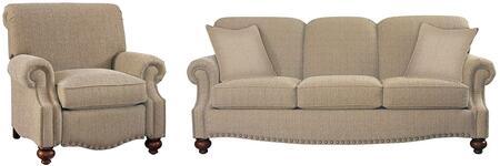 Bassett Furniture 3991FCFC1181SR Club Room Living Room Sets