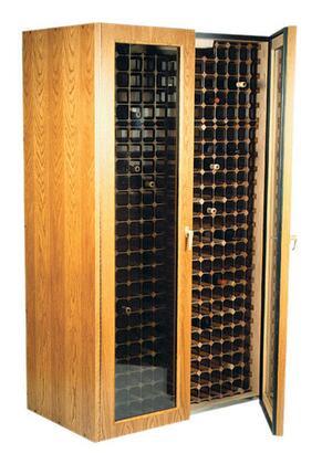 "Vinotemp VINO440TDGRB 38"" Wine Cooler"