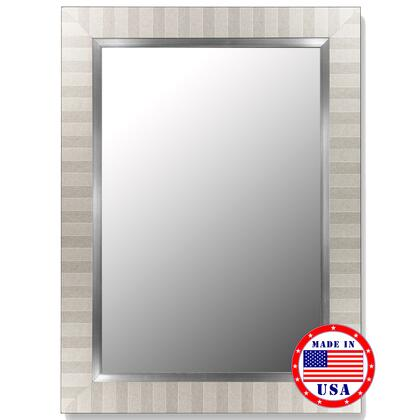 Hitchcock Butterfield 25330X Cameo Mirror in Parma Silver with Stainless Liner