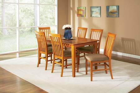 Atlantic Furniture SHAKER3660STDTCL