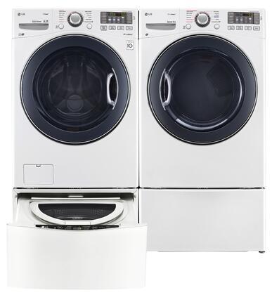 LG LG4PCFL27E2PEDWKIT6 Washer and Dryer Combos