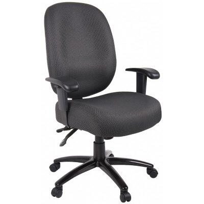 "Boss ADID34SSGY 26"" Contemporary Office Chair"