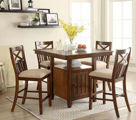 Furniture Of America Cm3037pt4pc Arlington Dining Room Sets Appliances Connection