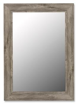 Hitchcock Butterfield 25850X Cameo Mirror in Antique Weathered Grey with Black Liner