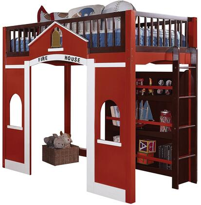 Acme Furniture 37085 Fola Series  Twin Size Loft Bed