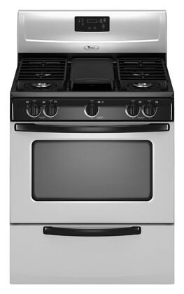 Whirlpool Wfg231lvs 30 Inch Gas Freestanding Range With
