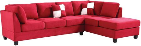 Glory Furniture G636BSC G630 Series Stationary Suede Sofa