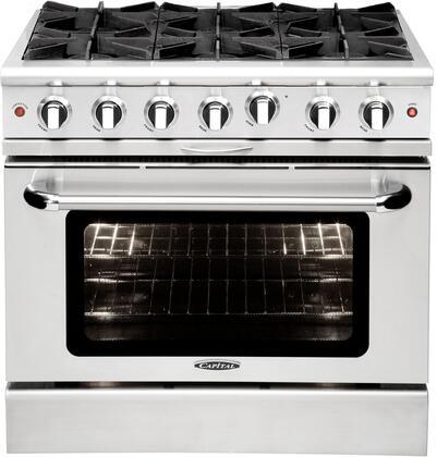 Capital Culinarian Burner Configuration