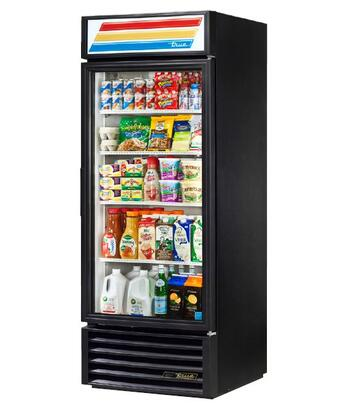 True GDM-26 Refrigerator Merchandiser with 26 Cu. Ft. Capacity, LED Lighting, and Thermal Insulated Glass Swing-Doors