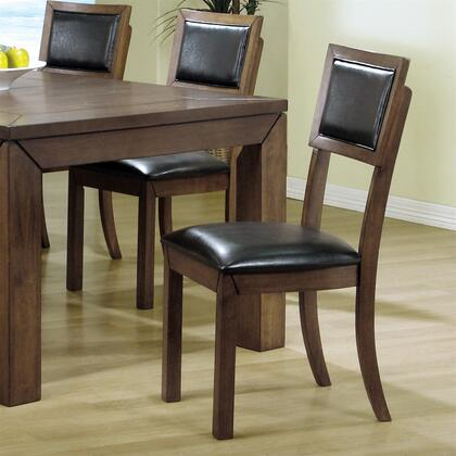 Monarch i1857 contemporary wood frame dining room chair for Dining room furniture 0 finance