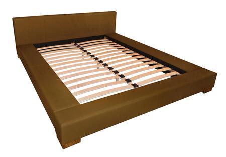 DG Casa 2225QGRY Bali Series  Queen Size Platform Bed
